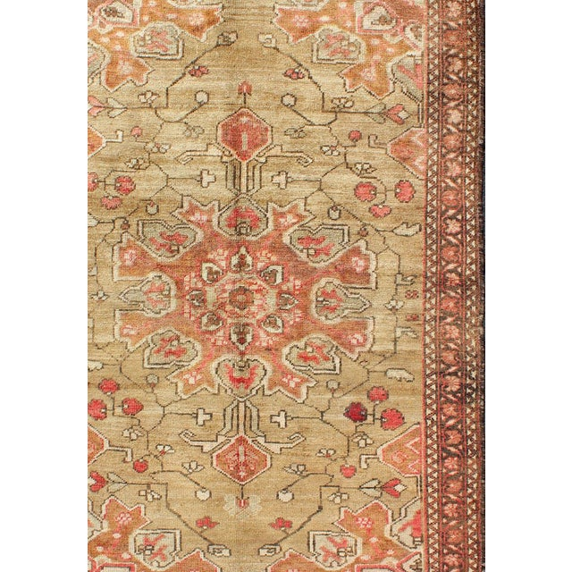 Vintage Mid-Century Persian Rug - 4′2″ × 6′4″ For Sale - Image 4 of 11