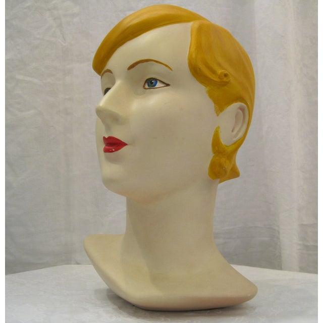 Blonde Vintage Mannequin Head - Image 4 of 6