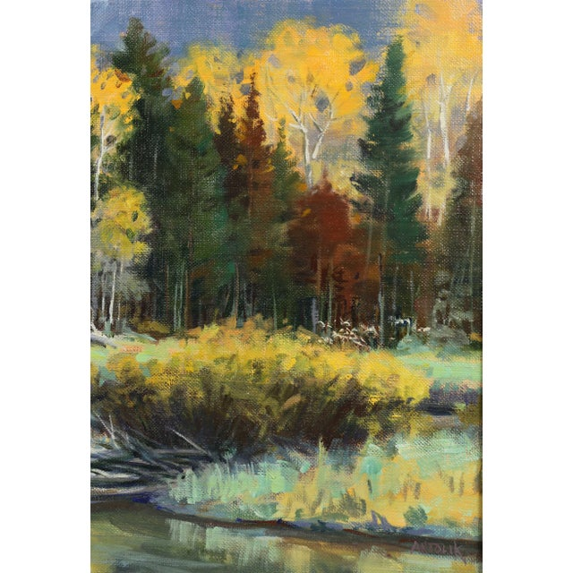 Oil on Panel Landscape by Jerry Antolik For Sale In Boston - Image 6 of 9