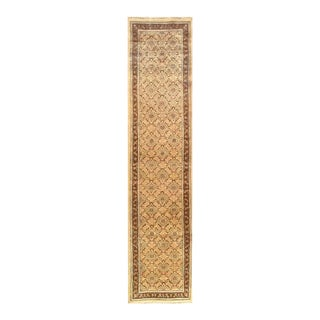Pasargad Hand-Knotted Moud Runner- 2′6″ × 11′6″ For Sale