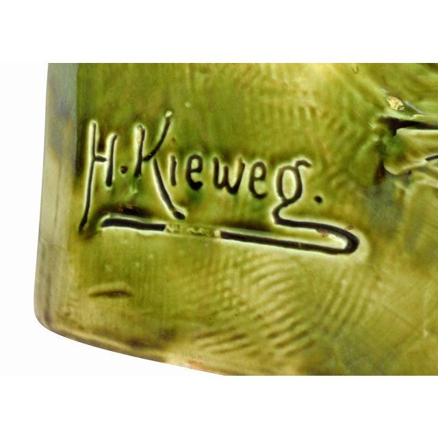 Hans Kieweg Art Nouveau Figural Vanity Mirror for Fraureuth - Image 9 of 10