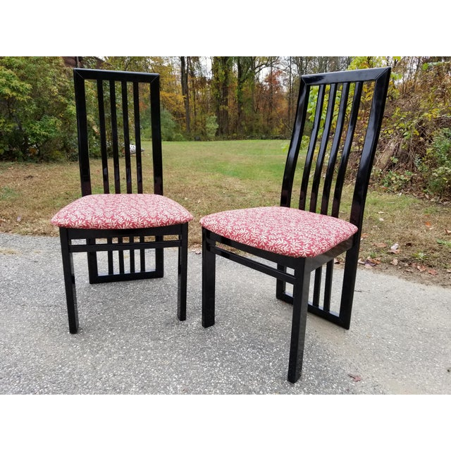 1990s S.P.A Tonon Italian Modern Dining Chairs - Set of 10 For Sale - Image 5 of 13