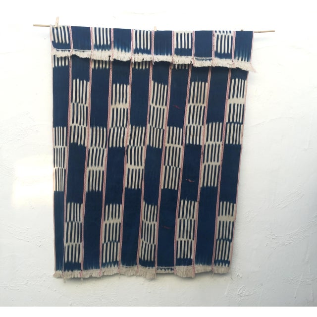Vintage African Baule Cloth Throw - Image 2 of 6