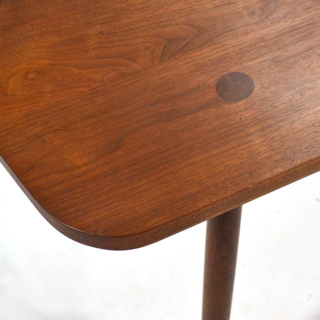 Black Robert Lovett Walnut Studio Craft Table/ Desk For Sale - Image 8 of 11