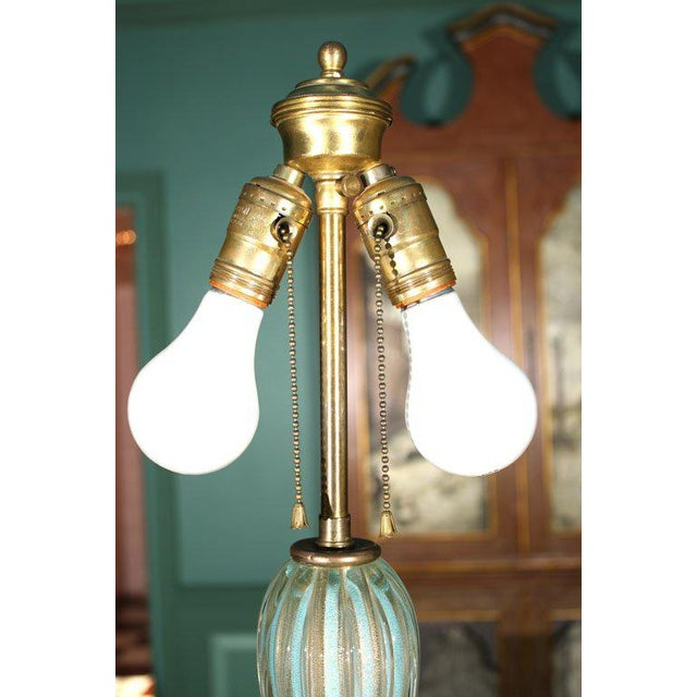 1950s Vintage Venetian Murano Glass Lamp For Sale - Image 21 of 31