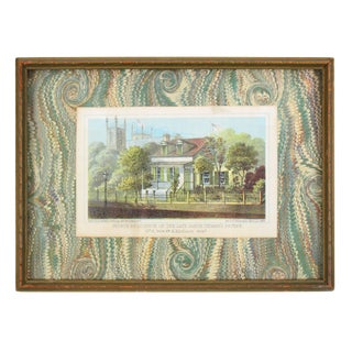 1863 Realism Lithograph of New York Mano For Sale