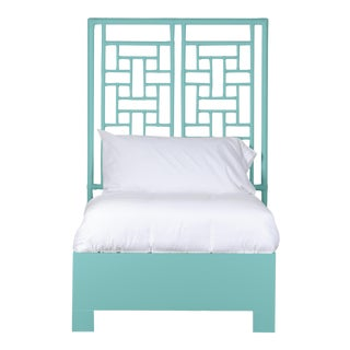Ohana Bed Twin Extra Long - Turquoise For Sale