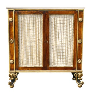 Regency Style Rosewood and Gilded Credenza Preview