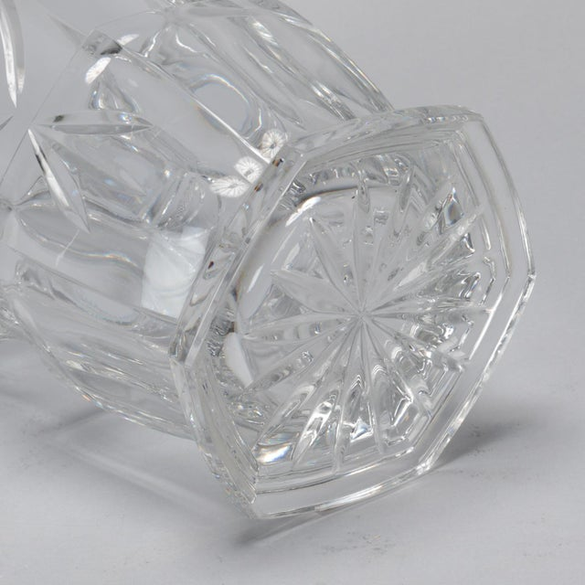 Crystal Large Early 20th Century French Crystal Ice Bucket For Sale - Image 7 of 8