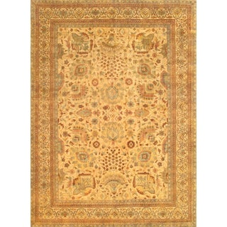 "Pasargad Ny Sultanabad Design Hand-Knotted Rug - 12' X 17'6"" For Sale"