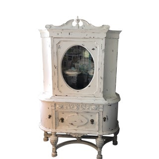 Antique Victorian China Cabinet For Sale