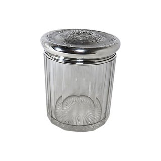1916 Sterling Silver Boston Athletic Club Tobacco Jar For Sale