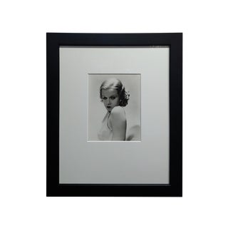 Jean Harlow 1932 Portrait - Silver Gelatin by George Hurrell -Signed For Sale