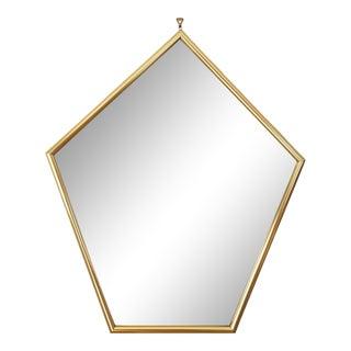 1980s Postmodern Pentagonal Wall Mirror For Sale