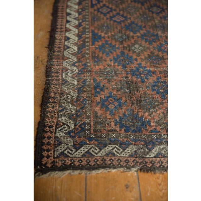 "Old New House Antique Belouch Rug - 2'7"" X 4'6"" For Sale - Image 4 of 9"