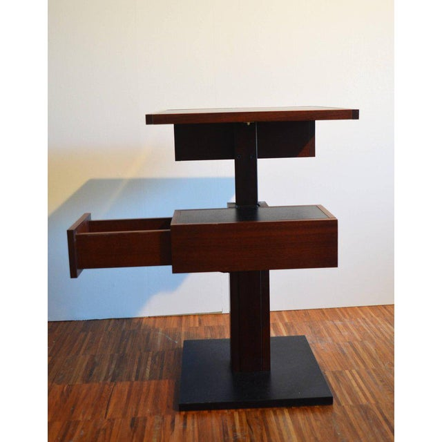 Nightstand Side Table by Bernard Vuarnesson for Sculptures-Jeux in Paris, 1980 For Sale - Image 6 of 8