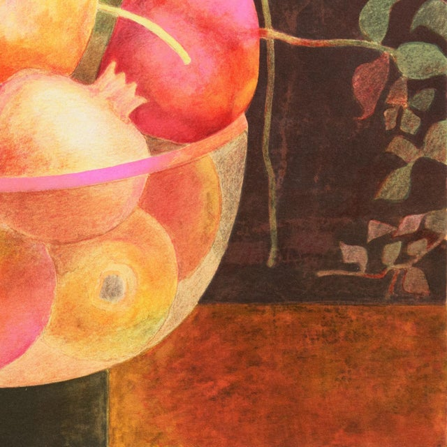 Still Life of Pomegranates by Pierre Garcia Fons For Sale - Image 9 of 10