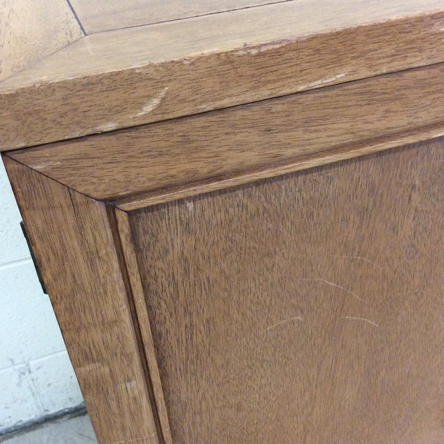 American of Martinsville American of Martinsville Solid Wood Buffet Side Board Credenza For Sale - Image 4 of 11