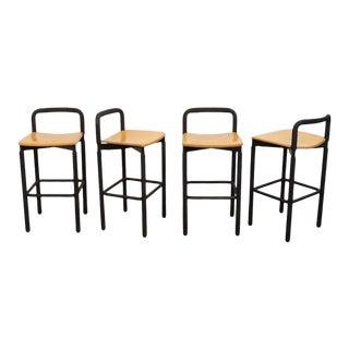 Brian Kane for Metropolitan Furniture Barstools - Set of 4 For Sale