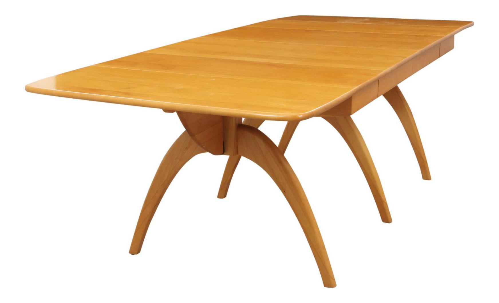 Heywood Wakefield Wishbone Dining Table  sc 1 st  Chairish & Vintage u0026 Used Heywood-Wakefield Dining Tables | Chairish