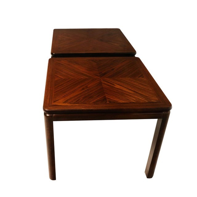 Pair Mid Century Lane Rosewood Side Tables For Sale In Baltimore - Image 6 of 11