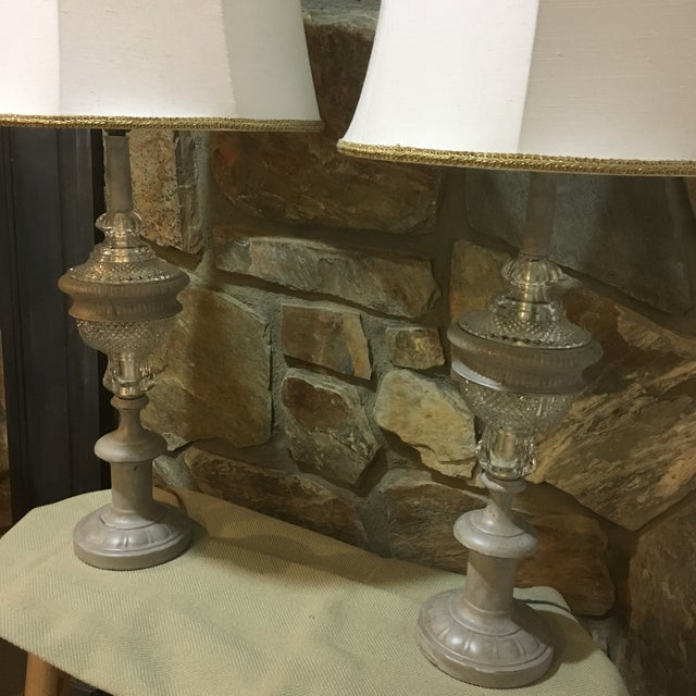 Contemporary Westwood Industries Regency Table Lamps - a Pair For Sale - Image 3 of 9