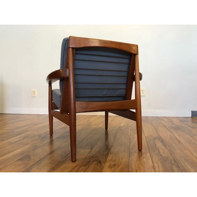 Grete Jalk Danish Teak Lounge Chair For Sale In Seattle - Image 6 of 13
