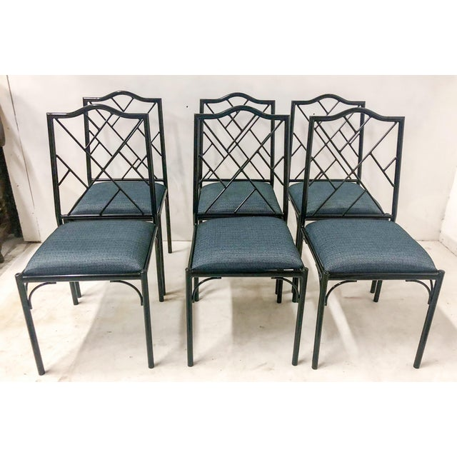 Chippendale Style Dining Chairs, Set of Six For Sale - Image 11 of 12