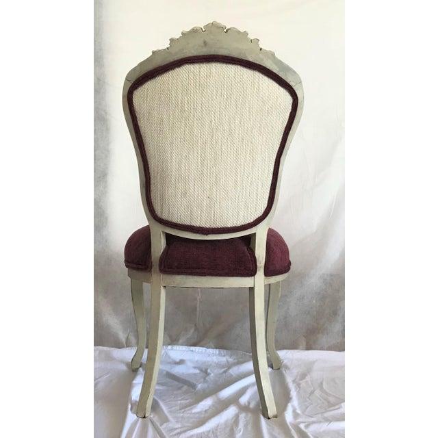 19th Century Louis XV Château d'Amboise Parcel Gilt Chairs - a Pair For Sale - Image 6 of 8
