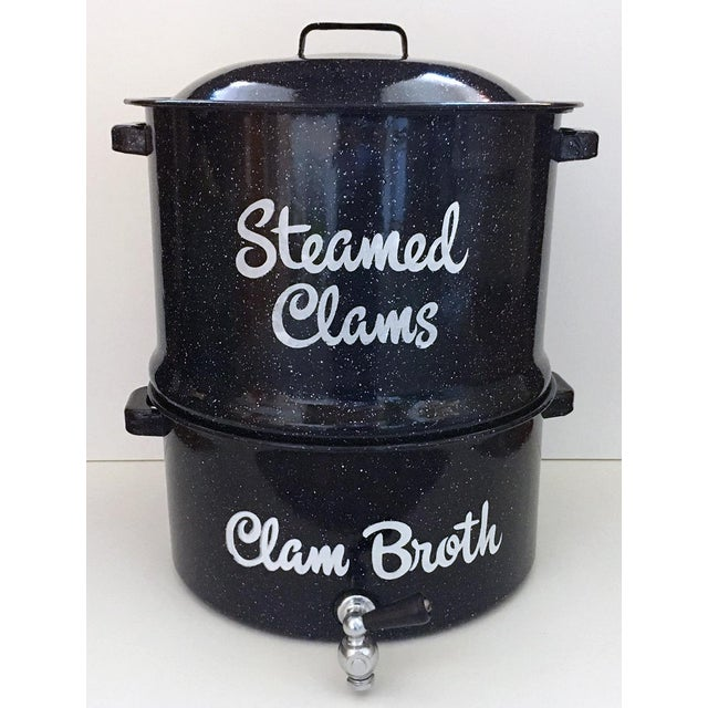 1960s Cottage Steamed Clam Pot - 3 Pieces For Sale - Image 12 of 12