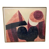 "Image of Original ""Let's Make Love"" Limited Edition Woodcut Print by Carol Summers For Sale"