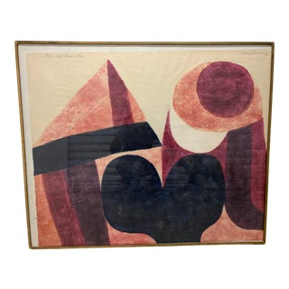 "Original ""Let's Make Love"" Limited Edition Woodcut Print by Carol Summers For Sale"