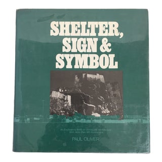 """1977 """"Shelter, Sign & Symbol"""" First Edition Architecture Book For Sale"""