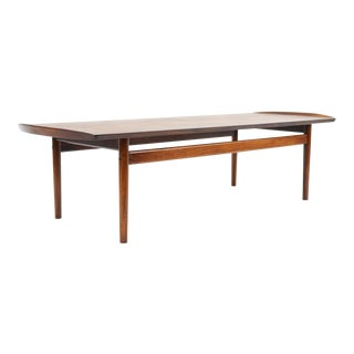 Bovirke Brazilian Rosewood Coffee Table Attr. To Arne Vodder For Sale