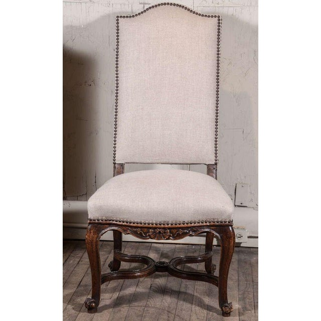 Mid 19th Century Pair of Régence Side Chairs For Sale - Image 5 of 10