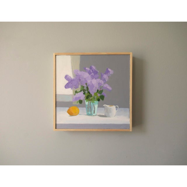 2010s Lilac, Lemon and Creamer by Anne Carrozza Remick For Sale - Image 5 of 6