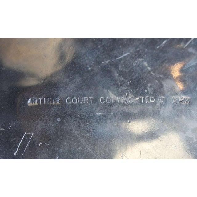 Silver Arthur Court Bear Wine Cooler For Sale - Image 8 of 9