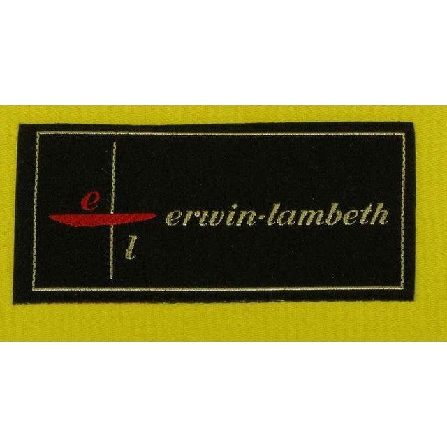 Pair Erwin-Lambeth Louis XV Style Arm Chairs & Ottoman - Image 10 of 10