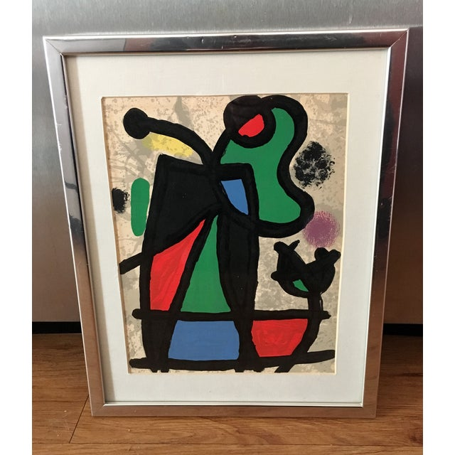 Original Miro Lithograph From Derriere Le Miroir - Image 2 of 5