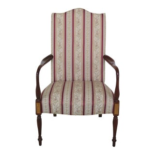 Southwood High Back Sheraton Lolling Chair For Sale