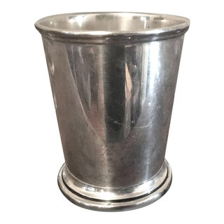 1950s Sterling Silver Mint Julep Cup For Sale