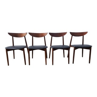 Danish Rosewood Dining Chairs by Harry Ostergaard for Moreddi- Set of 4 For Sale