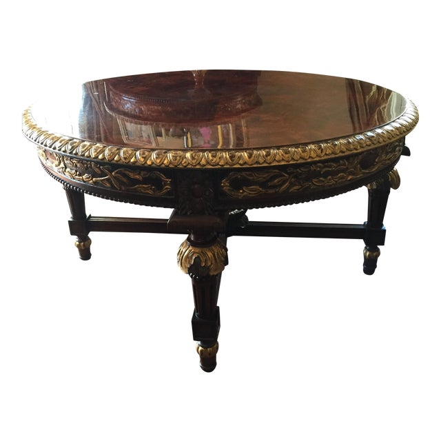 Louis XVI Reproduction Coffee Table - Image 1 of 6