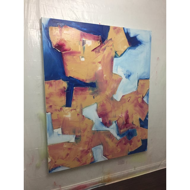 Abstract Expressionism Optimistic Guy in the Foxhole For Sale - Image 3 of 5