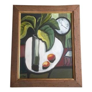 Stewart Ross Modernist Still Life Painting