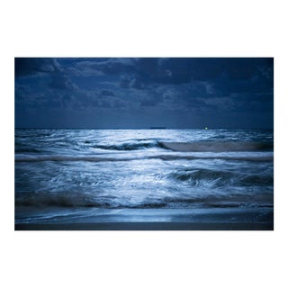 Cheryl Maeder, Blue, Archival Photographic Watercolor Print For Sale