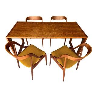 Stunning Mid-Century Danish Modern Dining Set For Sale