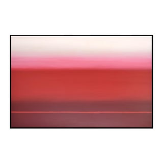 Abstract Red Ombré - Framed Print 40x60 For Sale