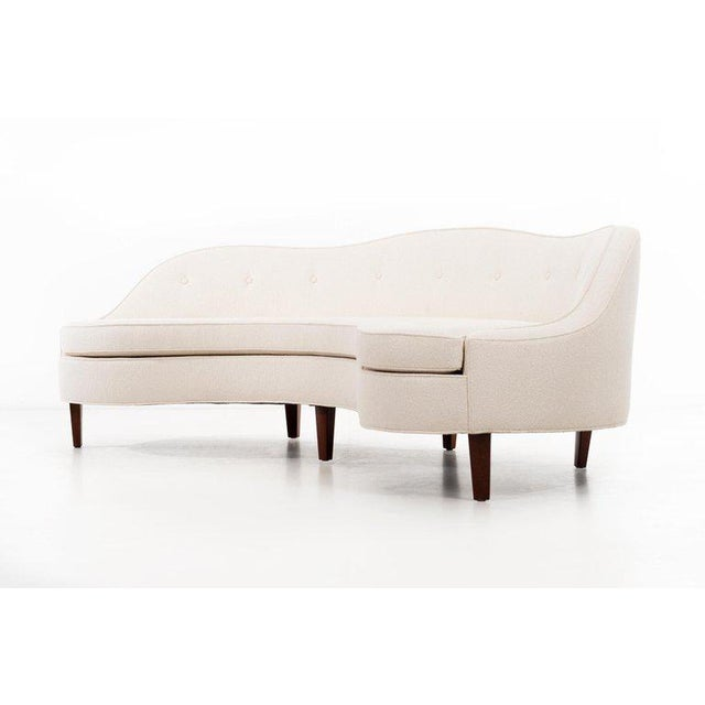 "Mid-Century Modern Edward Wormley ""Oasis"" Sofa For Sale - Image 3 of 8"