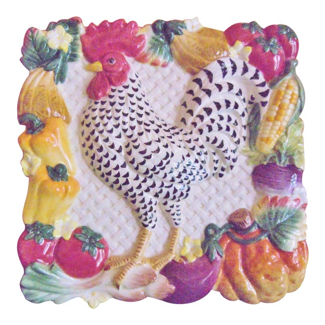 Fitz & Floyd Classics Rooster Plate For Sale